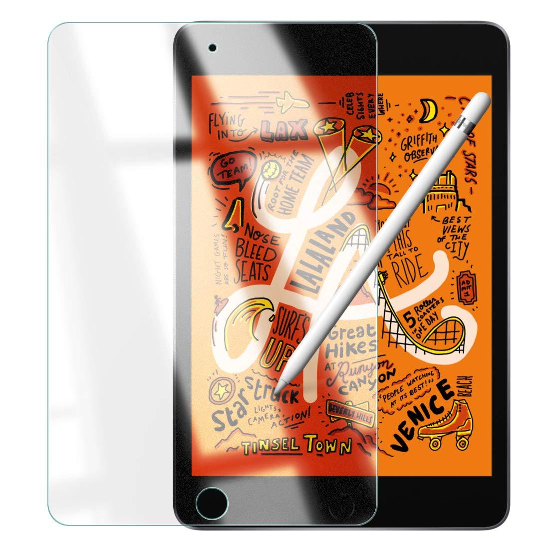 iPad mini 5 第5世代 2019 年 新型 モデル 【サラサラ度UP】 O型 反射低減 アンチグレア + ペーパーライク 中間感触 絶妙サイズ ガラスフィルム iPad mini 4 2015 新型 第4世代 7.9 インチ 対応 ノングレア タイプ 指紋防止 ApplePencil(第1世代)対応 強化ガラス 液晶 保護フィルム 荒野行動 対応 保護 ガラス フィルム 全面保護 ケース 衝撃 軽量 薄型 レザー 3D タッチ 薄型 手帳 カバー 対応 気泡防止 日本製 素材 【WANLOK】9H 2.5D 0.3mm iPadmini AG 345
