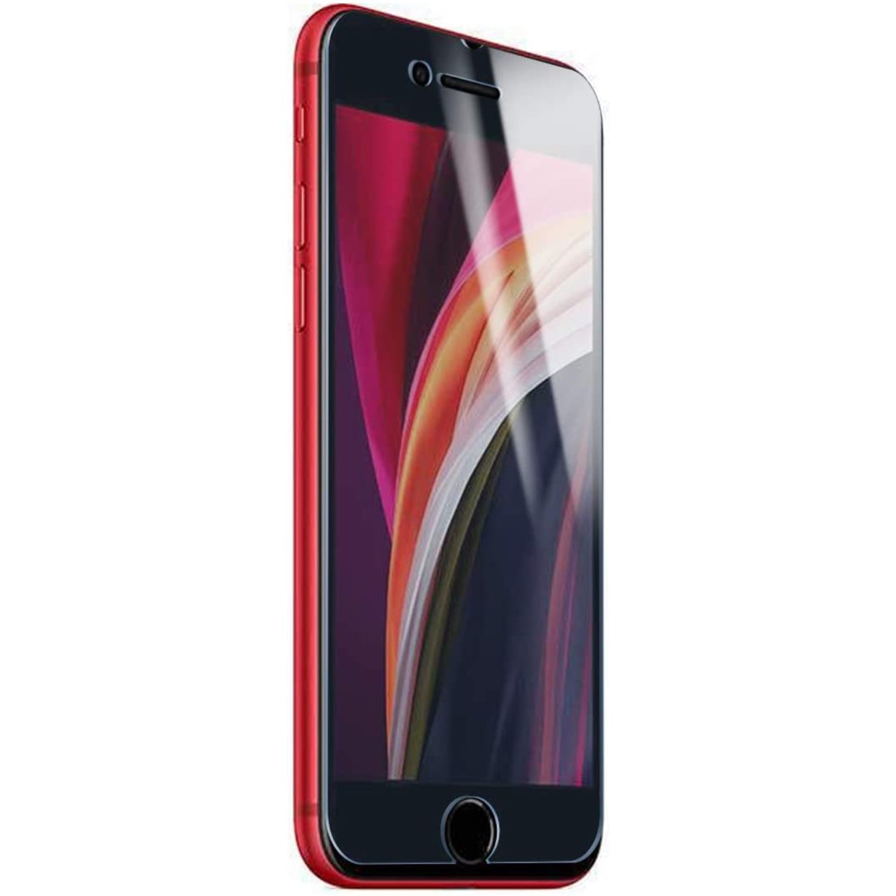 WANLOK iPhone SE「浮き無し」フィルム。実機にて確認済。アップル『iPhone SE(第2世代)』専用 フチが浮かない全面強力吸着タイプ液晶保護フィルム透明版もAmazonにて発売開始