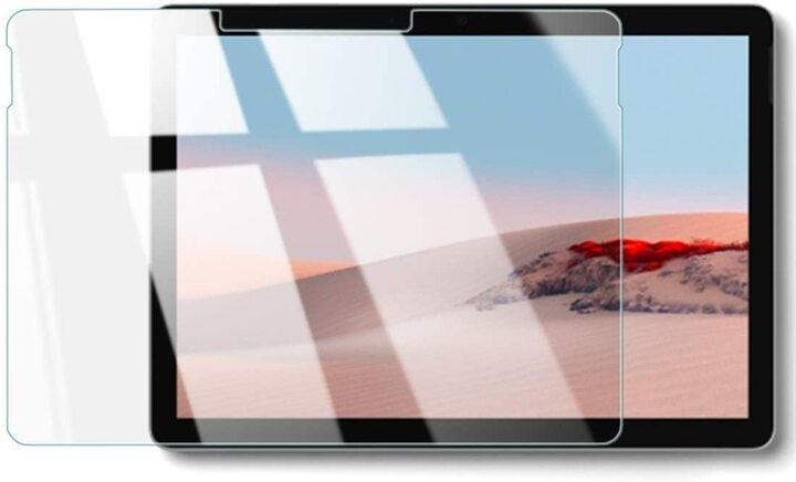 WANLOK 「Surface Go 2」専用マイク穴の隠れない、透明版液晶保護フィルムも amazon限定価格を継続、フィルム貼付方法もYouTubeで解説