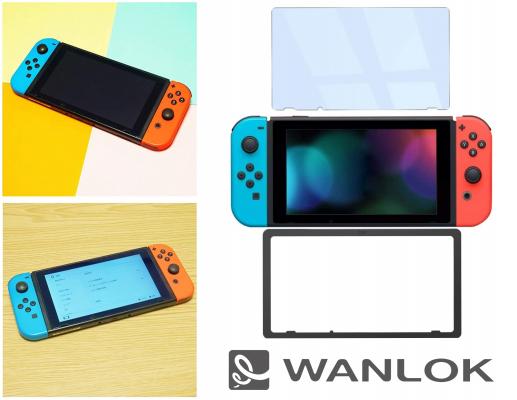 WANLOK アマゾンにて「Nintendo Switch」対応、貼り付けに簡単なガイド枠付き90%ブルーライトカットとアンチグレアガラスフィルムを発売開始!貼付方法はYouTubeで動画公開中