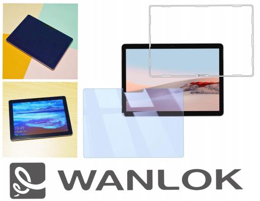 WANLOK アマゾンにてマイクロソフト製「Surface Go 2」対応、貼り付けに簡単なガイド枠付きガラスフィルムを発売開始!90%ブルーライトカット、貼付方法はYouTubeで動画公開中