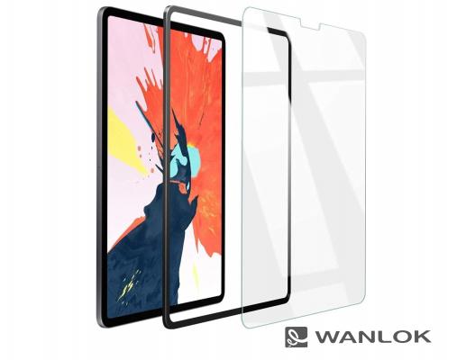 WANLOK「最新iPad Pro 12.9」の発売を目前に、対応ガラスフィルムを貼り付けに簡単な『ガイド枠付き』にグレードアップして発売開始!Face ID認証可、透明版とブルーライトカット版の2種