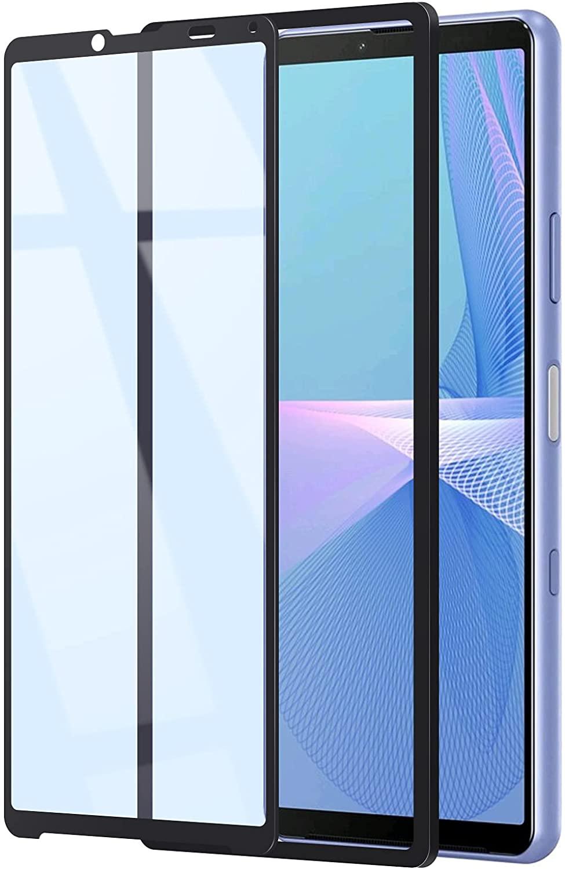 WANLOK 「Xperia 10 III SO-52B SOG04」対応ガラスフィルム 90%ブルーライトカット版発売開始!Amazon限定ブランドなので安心、ガイド枠付きで貼り付け簡単